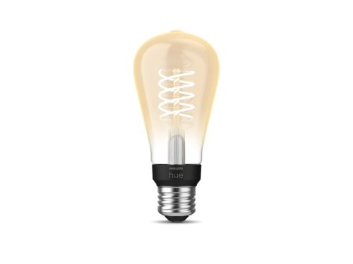 Filamento Hue White Paquete de 1 lámpara Edison ST19 E26 con filamento