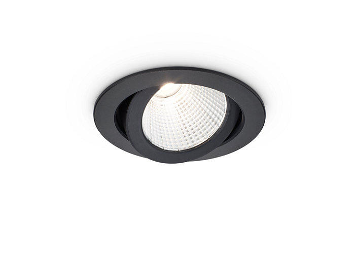 LuxSpace Accent Compact Adjustable Black