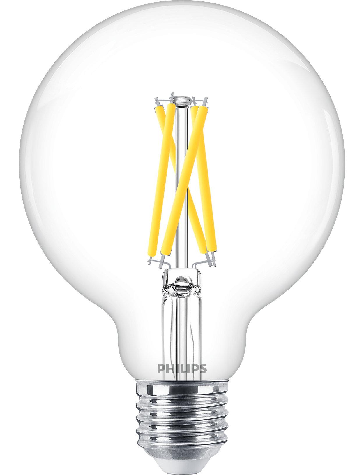 Uživajte v topli beli LED-svetlobi z zatemnitvijo