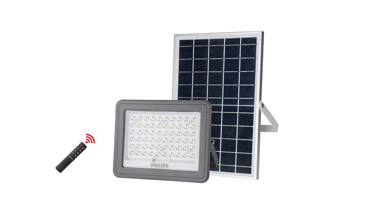 Kit de iluminación del panel solar