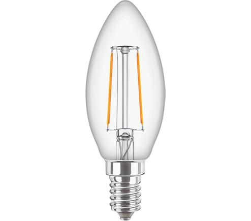 Classic LEDCandle ND 2-25W B35 E14 827 CL