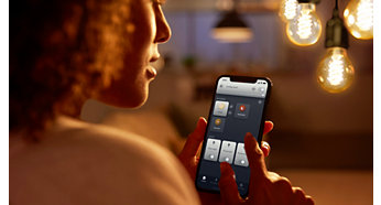 Ελέγξτε έως και 10 φώτα με την εφαρμογή Bluetooth