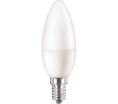 CorePro LEDcandle ND 5-40W E14 840 B35 FR