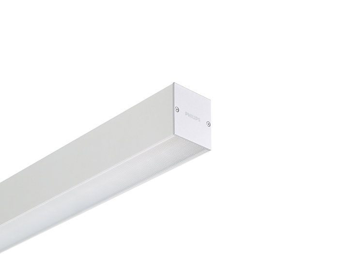 KeyLine alu with ceiling bracket accessory for surface mounting