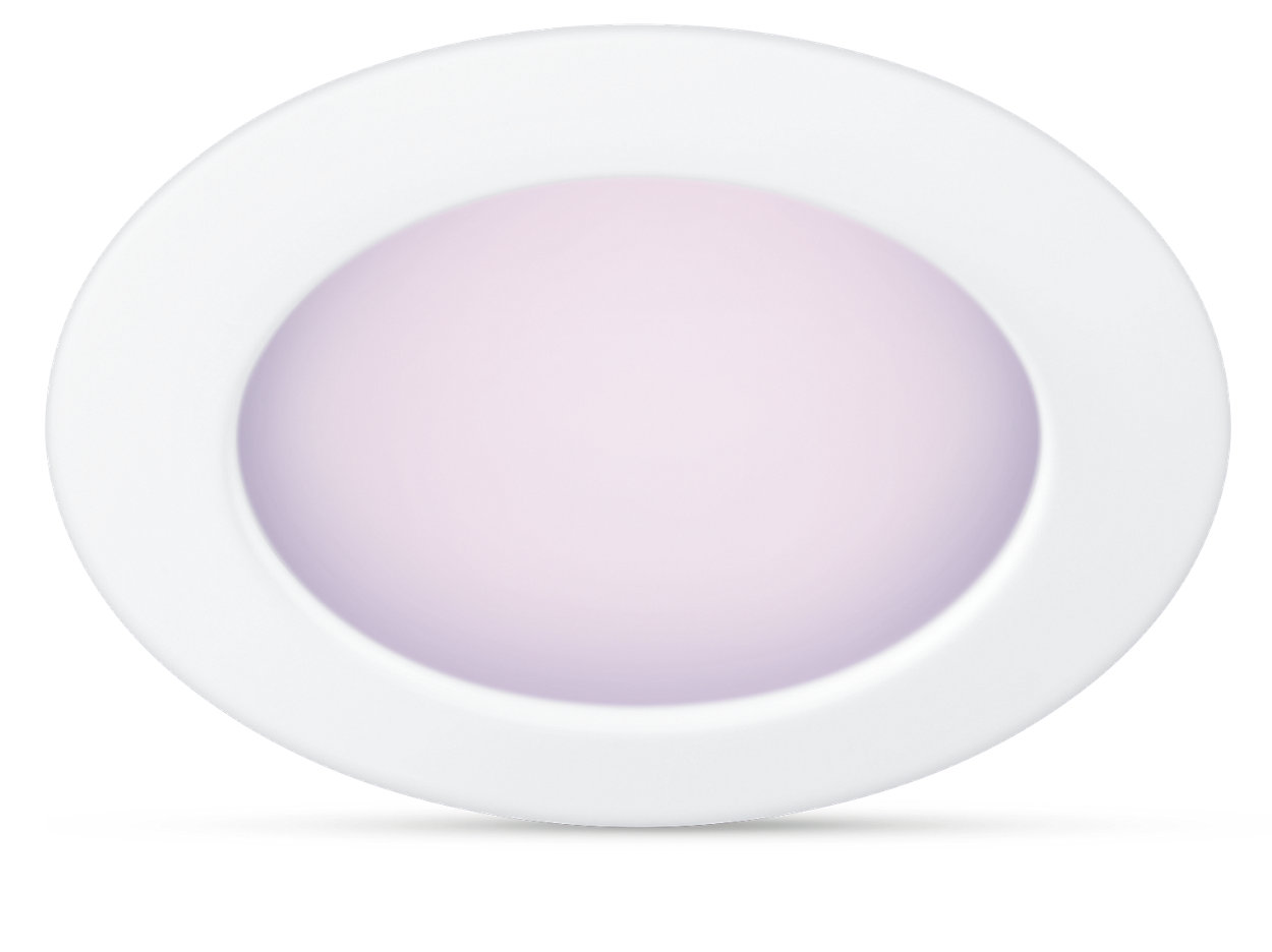Easy-to-use smart full color downlight