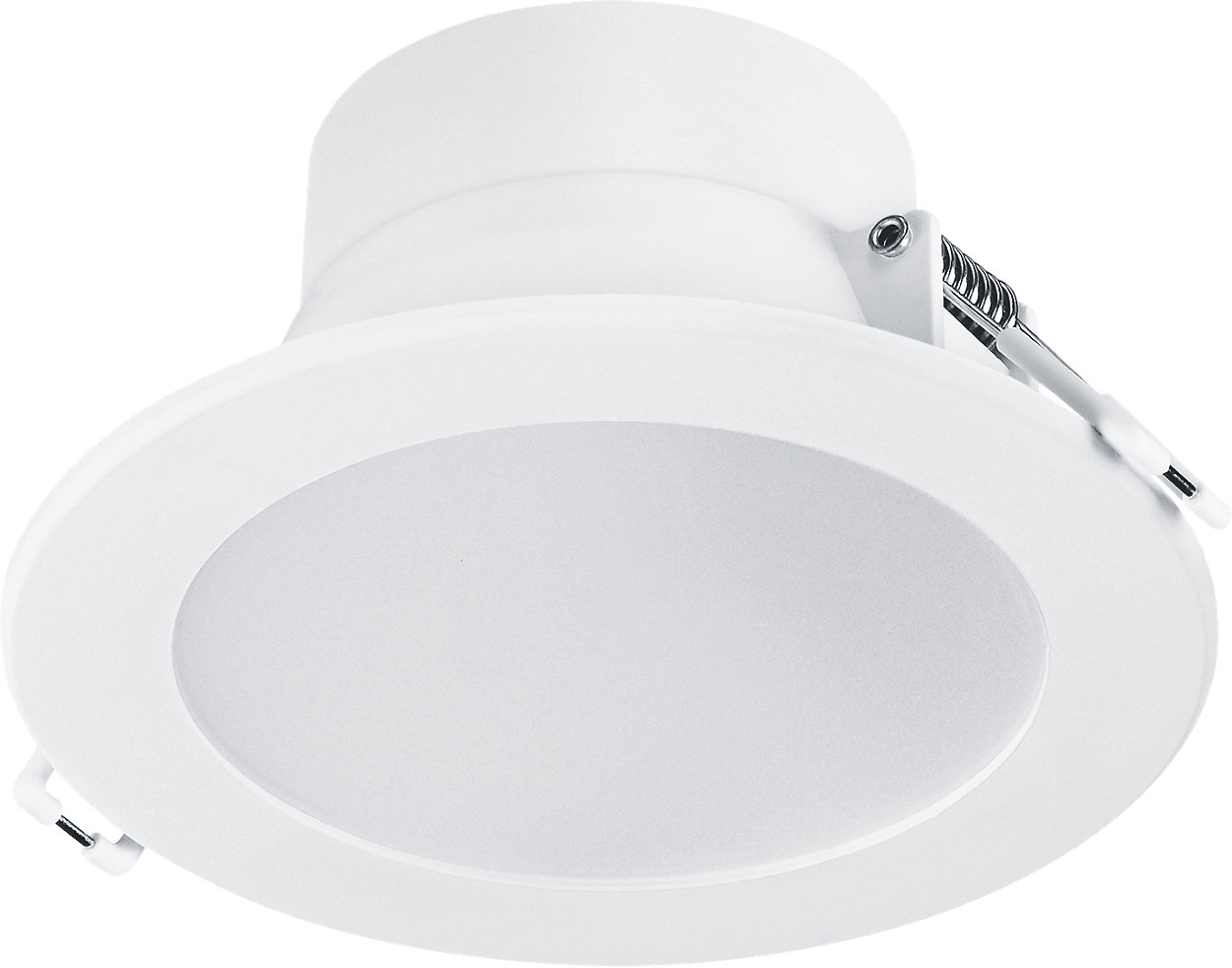 Less hassle, more savings. Tri-colour enabled downlight.