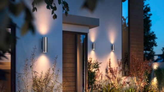 Unique architectural light shapes