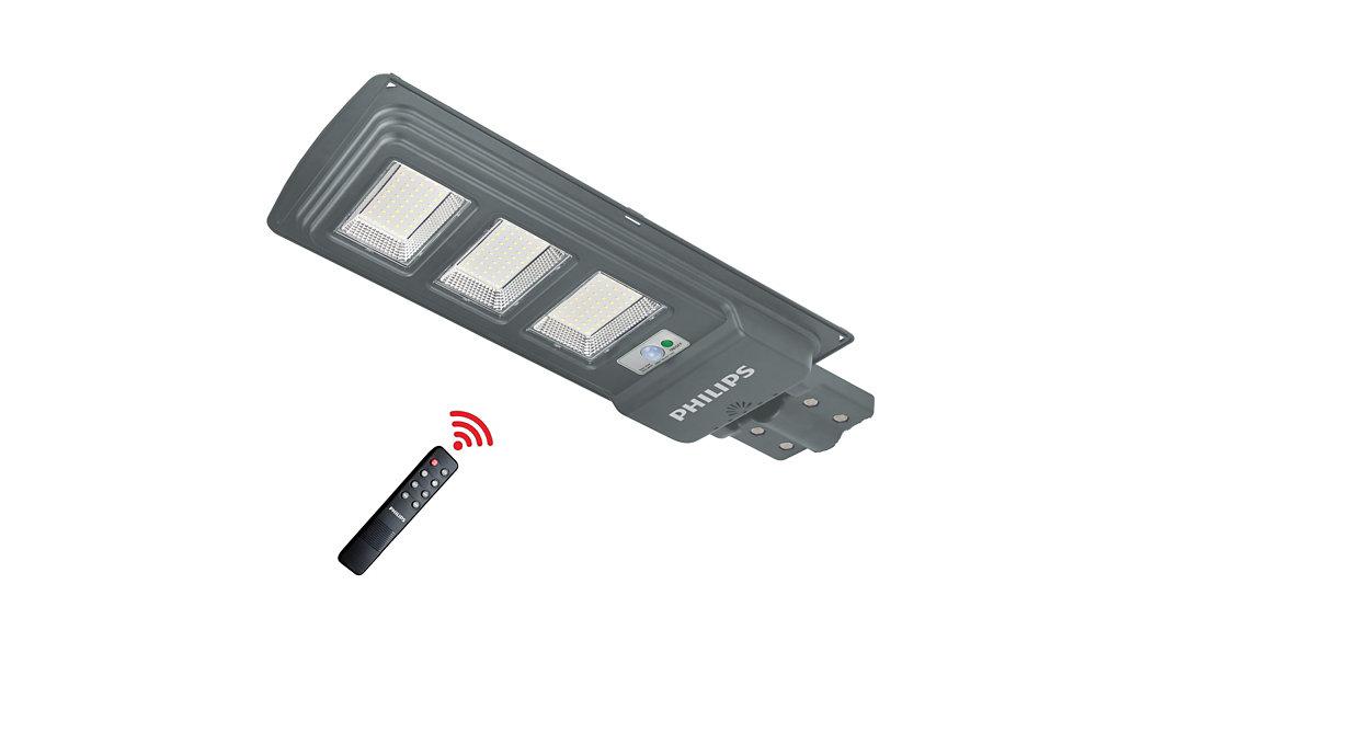 Oscilación máxima de la lámpara solar integral vial: 4000lúmenes