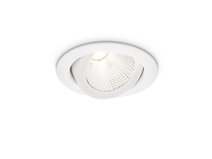 LuxSpace Accent Compact Adjustable White