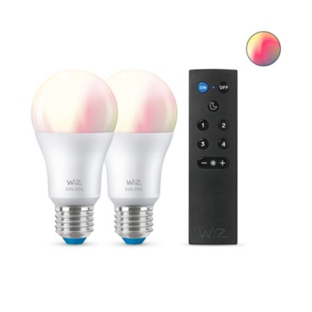 Bulb A60 E27 x2 + WiZmote x1