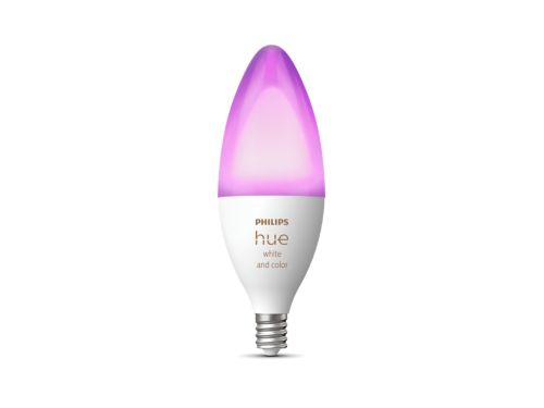 Hue White and color ambiance Single bulb E12